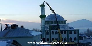 Ahşaptan beton örmeye dönen cami minareleri zamanla çelik minareler 'e döndü ve bununla birlikte bir devir kapandı bir devir açıldı.