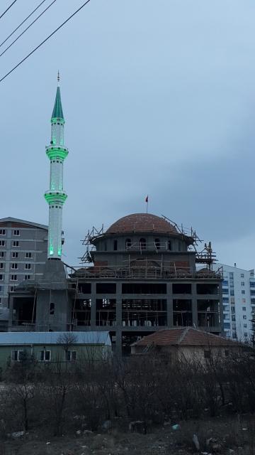 Çelik Minare Ankara Mamak Ege Fazilet Cami