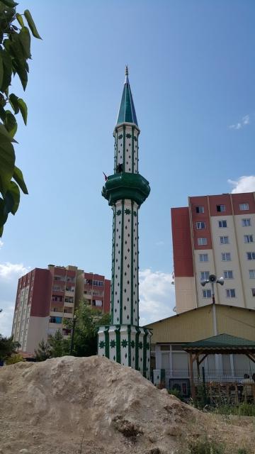 Çelik Minare Mersin Erdemli Toki Cami